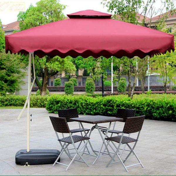 Garden umbrella double hat