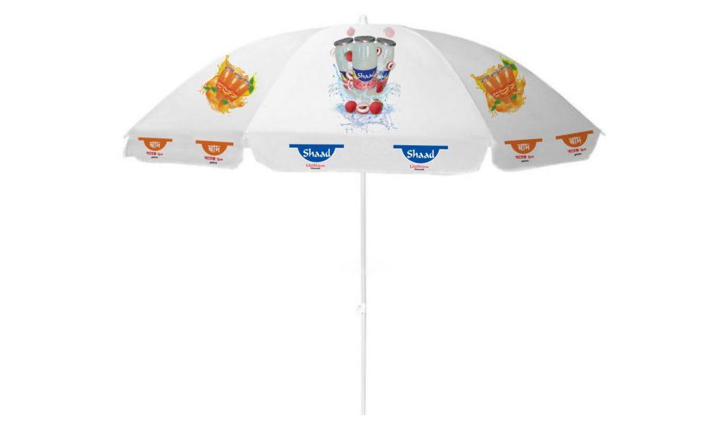 Logo Printed Garden Umbrella